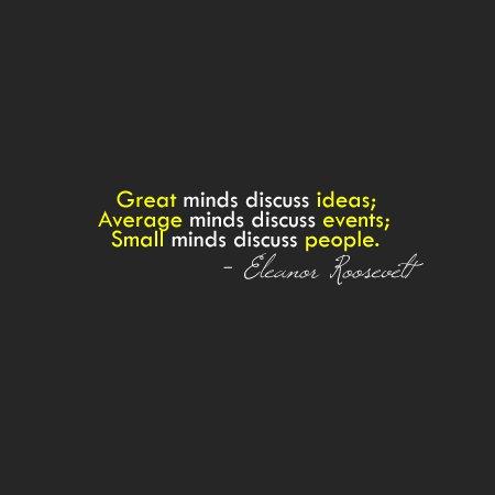 Mind your minds